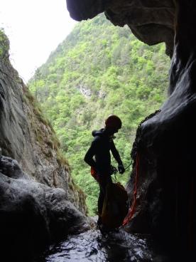 canyoneering italie